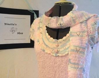 The PinkAndBlue CapSleeve BabyDoll Dress