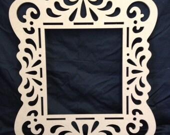 Unfinished Wooden Frame- Alice