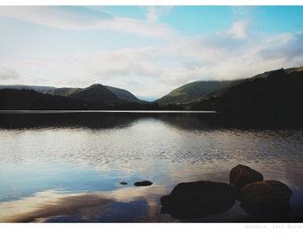 Lake District photograph, fine art photo print, landscape, lake, keswick, england, uk