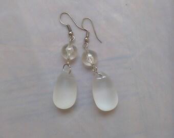 Ariel's earrings (pink dress)