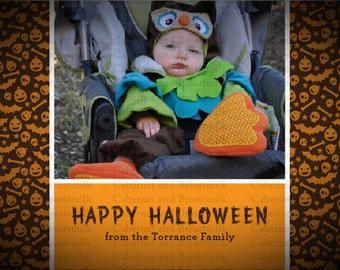 Halloween Photo Card