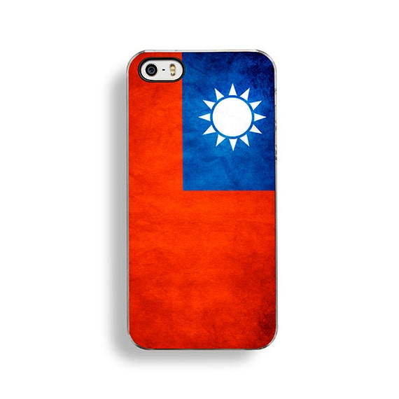 Flag Of Taiwan Iphone 5 5s Case Iphone 4 4s Case Iphone 5c
