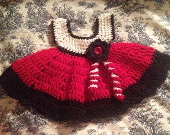 Infant Crochet Baby Dress
