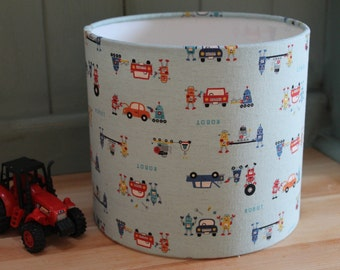 Planet lampshade stars lamp shade space birthday gift kids robots fixing cars childrens lamp shade mozeypictures Images