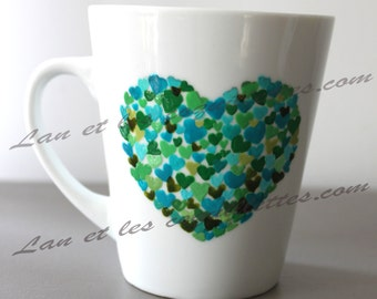 Mug small hearts
