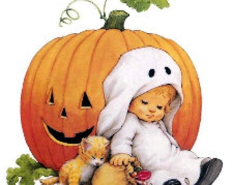 Halloween Counted Cross Stitch Pattern