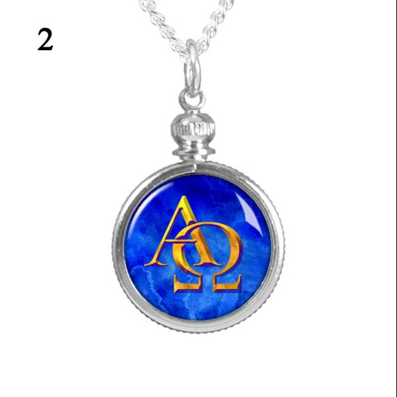 Alpha Omega Revelation 22 13 Christian Jewelry By