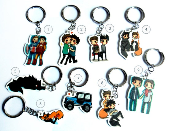 Teen Wolf Key chains