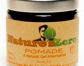 POMADE - Natural Pomade, Organic pomade, natural hair styling pomade, hair styling gel, natural gel, mens hair styling product