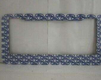 Many small Ford logo  design license plate frame,