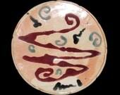 Ceramic Platter/Decorative Platter/Pottery Platter/Ceramic Tray/Wall Hanging/Ceramic Plate/Ceramic Serving Plate by Leslie Farin
