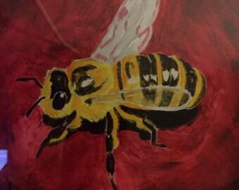 Acrylic bee