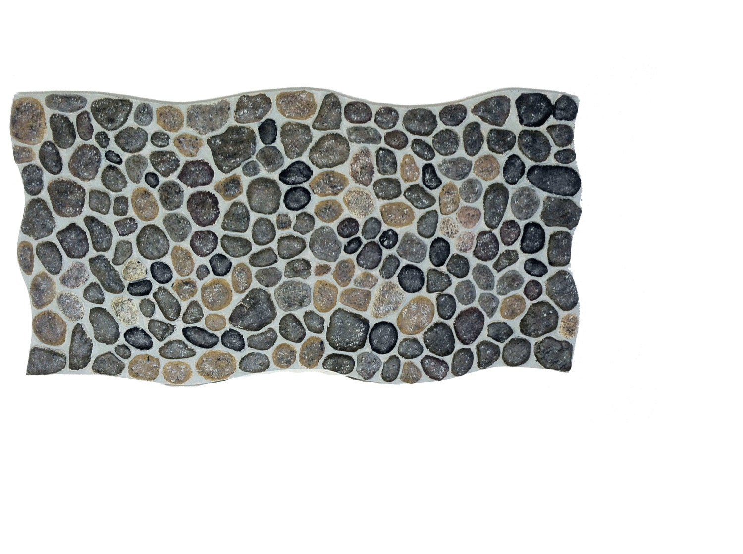 Sale River Stones False Decorative Panels From Real By