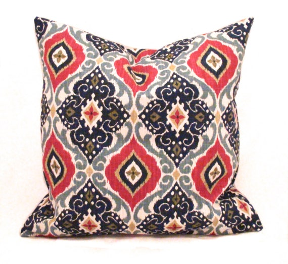 20x20 Throw Pillows Covers : Throw pillows 20x20 Throw pillow cover Ikat pillow by PillowCorner