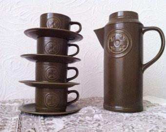 Sixties Modern Retro Coffee set