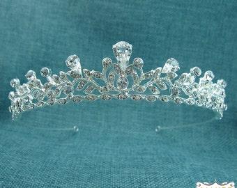 Bridal tiara headpiece, wedding tiara, wedding headpiece, rhinestone tiara, crystal tiara, crystal bridal accessories, tiara 205294474