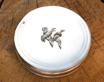 Duck Trinket Jewelry Box Ladies Hunting Gift