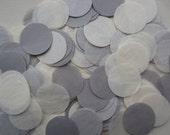 Dot Tissue Paper Confetti grey