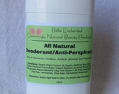 All Natural Deodorant / AntiPerspirant - Contains Healing Clay,  Free of Aluminum, Parabens, Artificial Chemicals and Fragrances