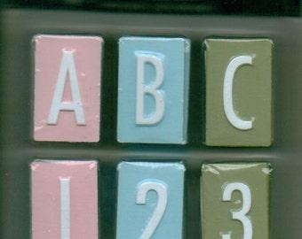 Making Memories PASTEL Mailbox Alphabets Value Pack
