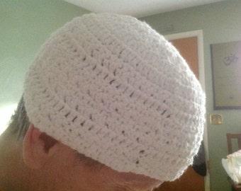 Kufi / Moslem Prayer cap - made to order 100% cotton