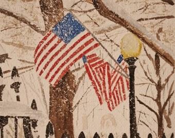 Patriotic Scene Etsy