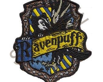Ravenpuff Cross-House Crest Patch
