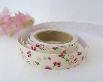 Floral Fabric Tape / Adhesive Decoration Fabric Tape  FT005