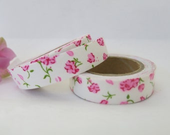 Floral Fabric Tape / Adhesive Decoration Fabric Tape  FT031