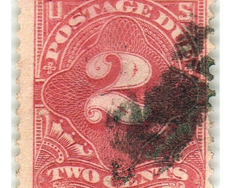 This is a 1894-95 U.S. Postage Stamp Scott's # J-30
