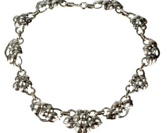 Kalo Arts & Crafts period sterling necklace