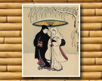 Japan Art Asian Decor Vintage Print Japanese Poster (J107)