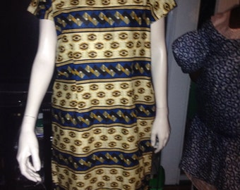 African Print Dress REDUCED PRICE
