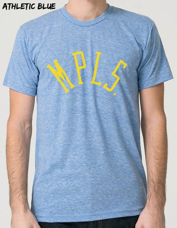 mens unisex minneapolis triblend tshirt mpls by