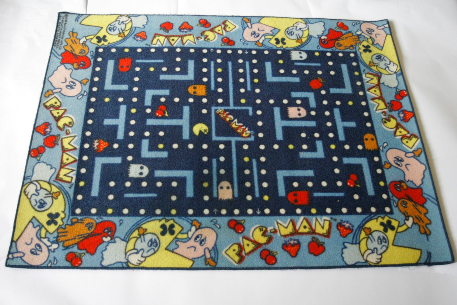 extremely rare pac man rug