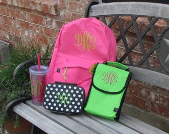 Monogram for backpack, Vinyl Letters, Iron on vinyl, adhesive vinyl, labels, back to school, vinyl letters, iron on monogram