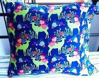 Pillow Case Reindeer 18 inch