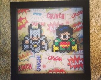 Batman & Robin Comic Shadow Box