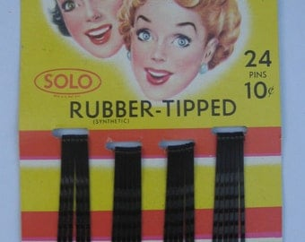 Solo Safety Tip Bobby Pins