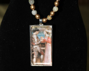 Renaissance Lovers II Necklace
