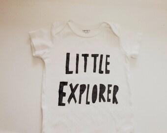 Baby Bodysuit- Little Explorer