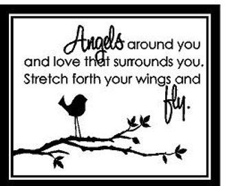 Angels around you Decal