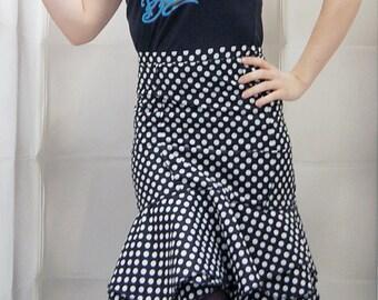 Hight waist skirt corset designer fashion Zawann peas customizable