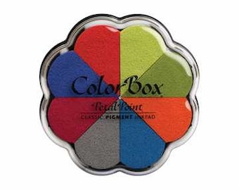 Beach Ball Petal Point Colorbox Pigment Ink Pad - C8023