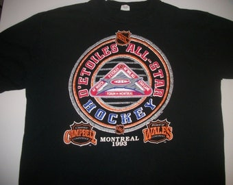 NHL 1993 AllStar Game t-shirt  size mens' XL