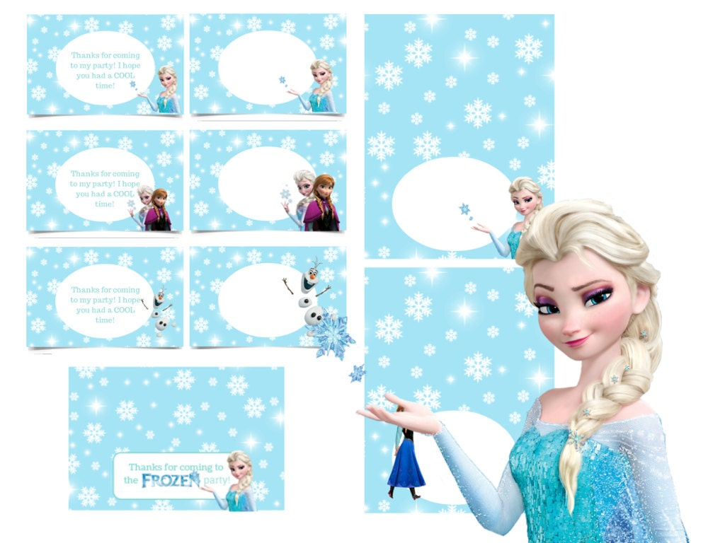 It is a graphic of Peaceful Frozen Food Labels Free Printable