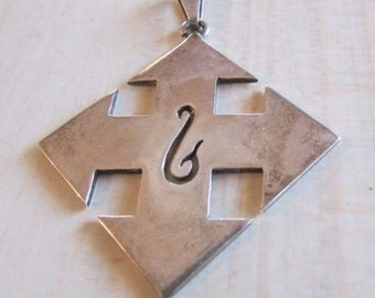 Mexican sterling Silver Pendant.