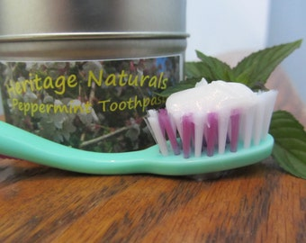 Fresh Breath Toothpaste/ All Natural Fluoride-Free