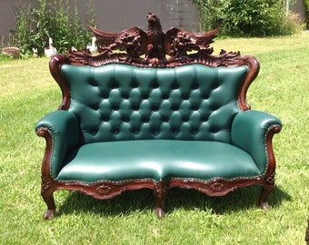 Popular Items For Leather Sofa On Etsy
