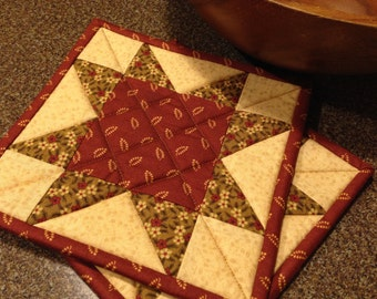 Quilted Pot Holders Item # 161